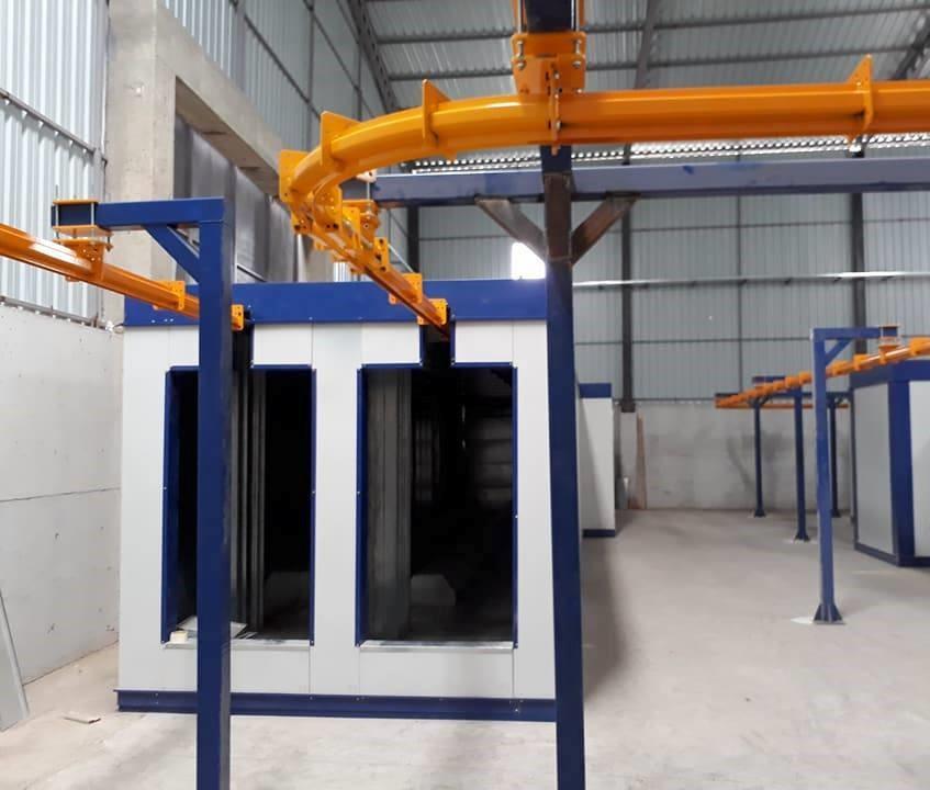 Tunnel Type Conveyor Ovens