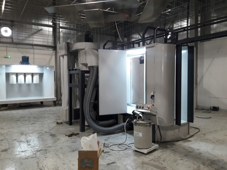 Cyclone Powder Coating Booths